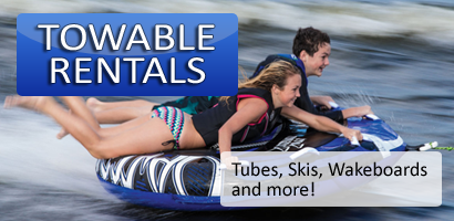 Towable Tube Rentals in Ontario - Banner