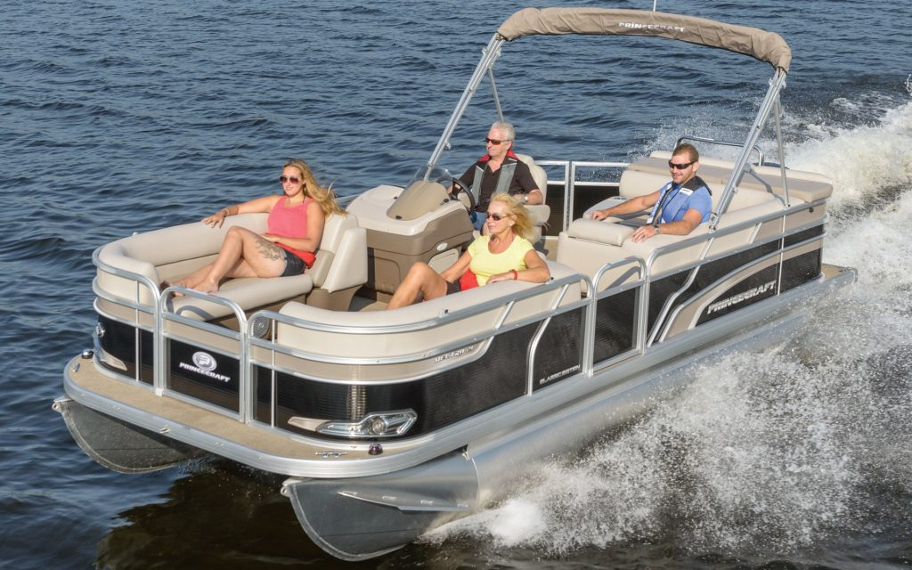 Princecraft Vectra 21 Pontoon Boat Rental