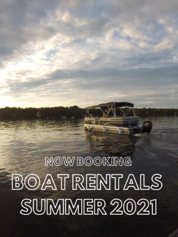 Now booking boat rentals for 2019